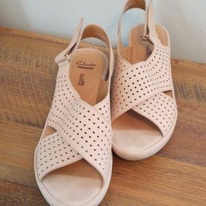 Clark's Soft Cushion Sandals